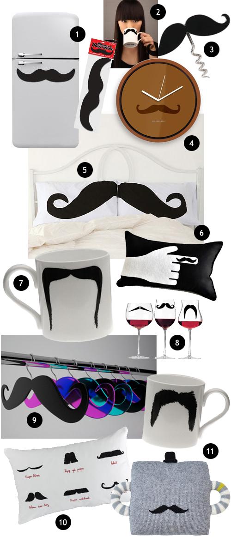 Woonblog moustache