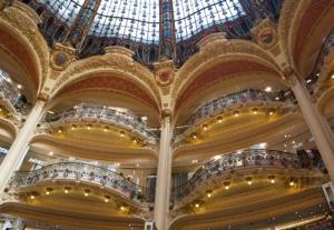 Woonblog parijs galeries lafayette