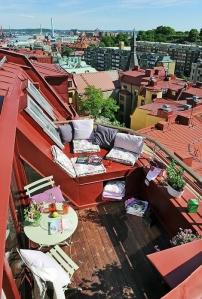 Woonbog balkon terras groen 06