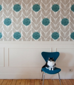 Orla kiely wallpaper behangpapier 01