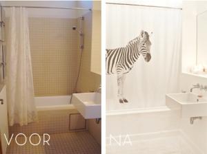 Badkamer voor na