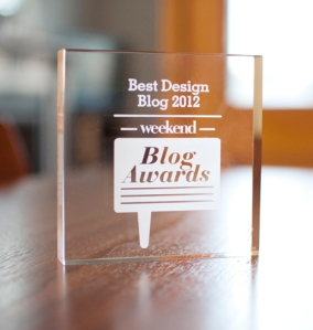 Weekend blog awards woonblog
