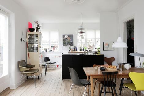 Binnenkijken in een Deens appartement – woonblog