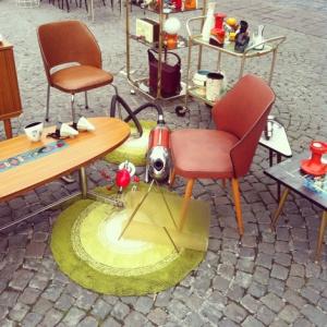 Vintage design markt vrijdagmarkt gent 1