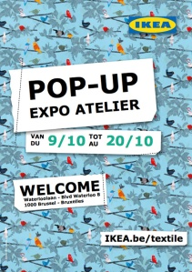 Ikea pop up expo atelier