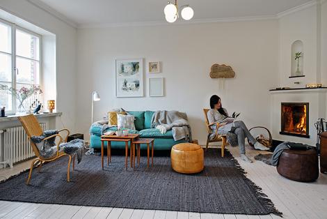 Binnenkijken in een appartementje in scandinavische stijl – woonblog