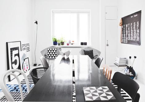 Zwart Wit Appartement : Binnenkijken in een zwart wit appartement in helsinki u2013 woonblog