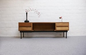 Kapaza retro dressoir lowboard sixties