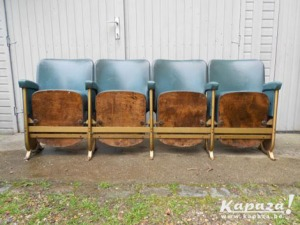 Kapaza cinemastoeltjes cinema stoelen retro vintage