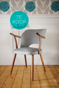 Kapaza vintage retro stoel te koop sixties