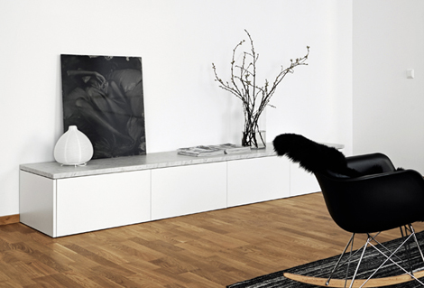 Zwart Wit Appartement : Binnenkijken in een minimalistisch zwart wit appartement u2013 woonblog