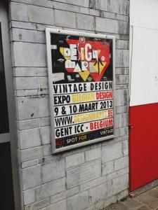 Vintage design markt gent 2013