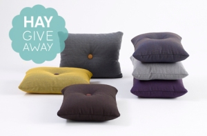 Hay kussen give away 01