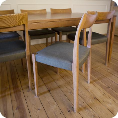Eettafel Met Zes Stoelen Te Koop.Vintage 60 S Deense Eettafel Met Zes Stoelen Te Koop Op Kapaza