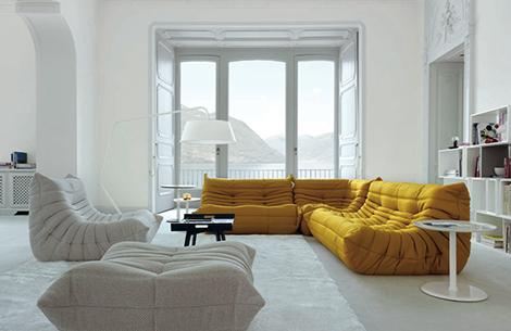 op zoek naar de ideale zetel het wordt de togo van ligne roset woonblog. Black Bedroom Furniture Sets. Home Design Ideas