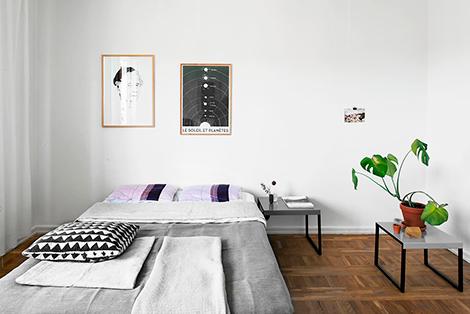 Binnenkijken in een studio van 36 vierkante meter woonblog - Woon outs vierkante ...