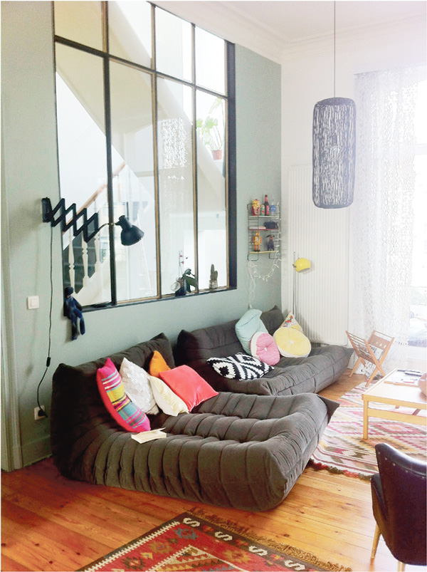 binnenkijken in een vintage appartement in brussel woonblog. Black Bedroom Furniture Sets. Home Design Ideas