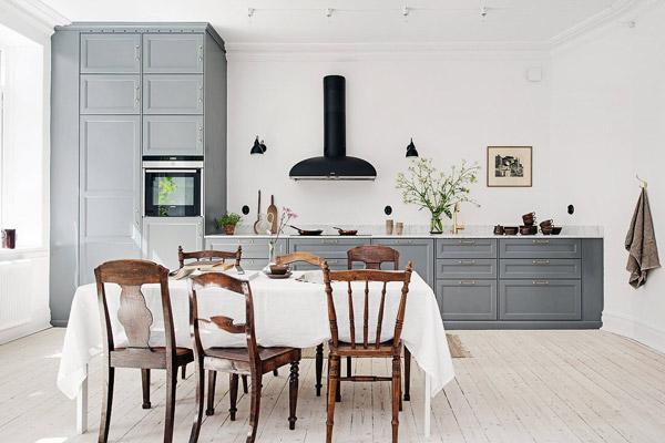 Keuken Interieur Scandinavisch : Binnenkijken in een scandinavisch droomappartement in zweden