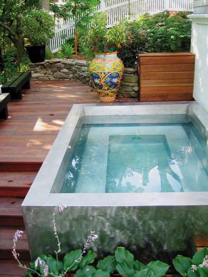 Geliefde 20 prachtige zwembadjes op maat van kleine stadstuinen – woonblog &PS07