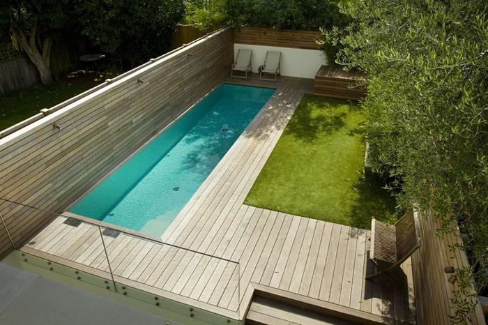 Prachtige zwembadjes op maat van kleine stadstuinen u woon