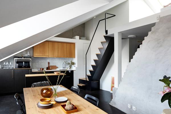 Scandinavisch Appartement Inspiratie : Binnenkijken in een dakappartement u2013 woonblog