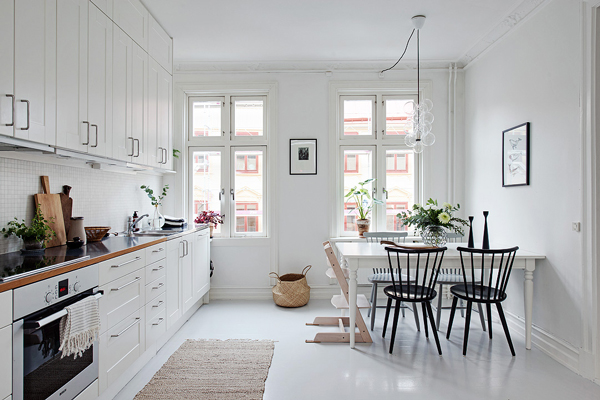 Zweeds Interieur Design. Interesting Paint The Floorboards In Your ...