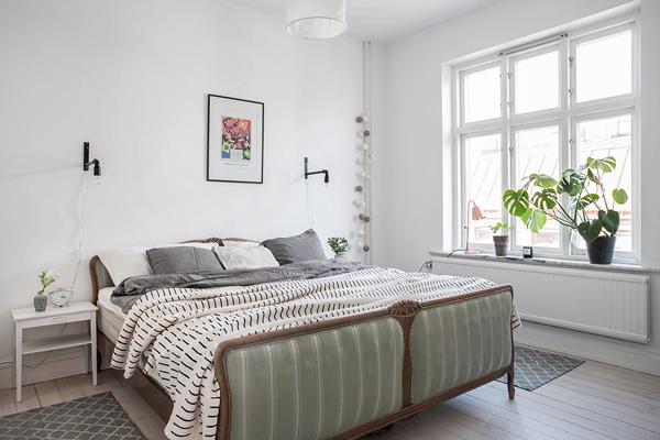 binnenkijken in een scandinavisch appartement met zachte pasteltinten woonblog. Black Bedroom Furniture Sets. Home Design Ideas