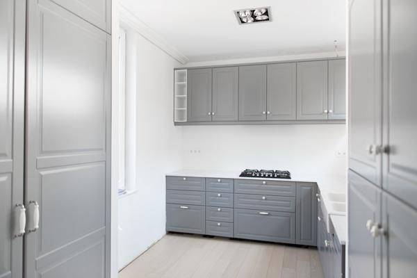 Einde Witte Keuken : Onze nieuwe keuken is klaar of toch bijnau u woon