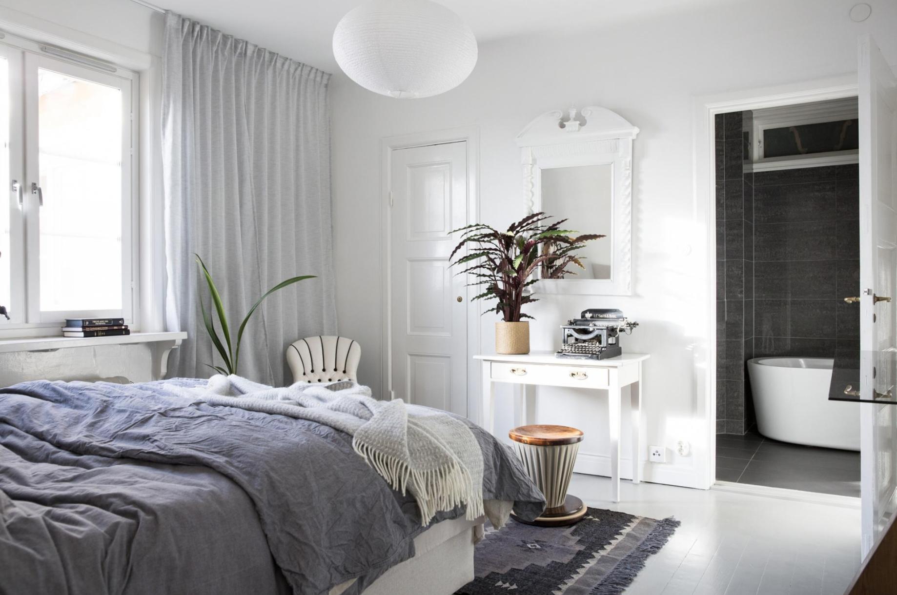 Slaapkamer En Badkamer Ineen. Great Moderne In Landelijke Stijl With ...