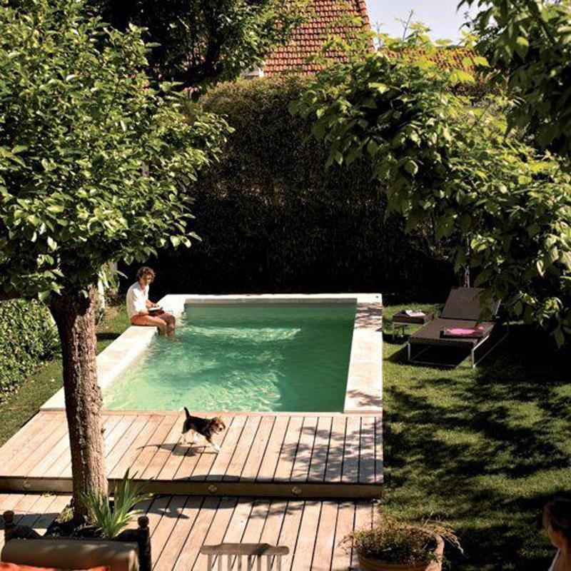 Een zwembad in je stadstuin woonblog for Zwembad achtertuin